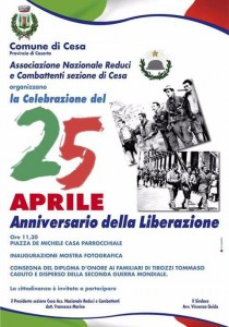 25 Aprile Cesa