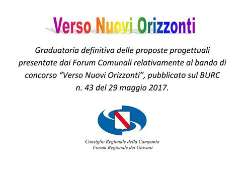 Progetto Verso Nuovi Orizzonti