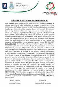 fase due raccolta differenziata